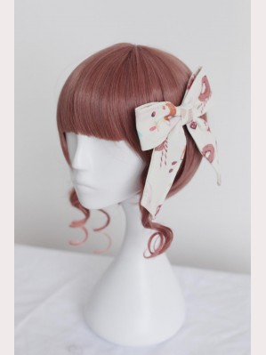 "Souffle Song ""Sweet Afternoon Tea""  Lolita Hairclip"