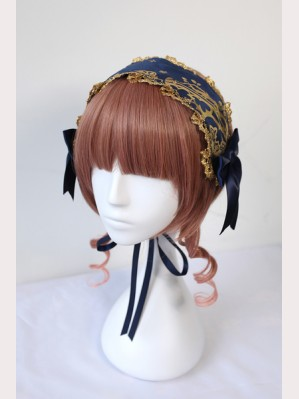 Souffle Song Gold Cross Lolita Headdress