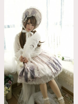 Souffle Song Nightmare Curse Lolita Skirt SK