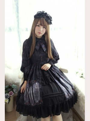 Souffle Song Nightmare Curse Lolita Dress OP