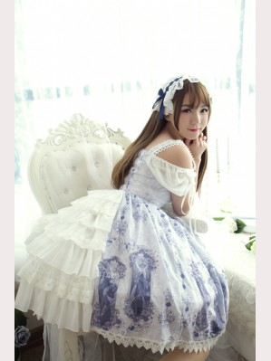 Souffle Song Nightmare Curse Lolita Dress JSK