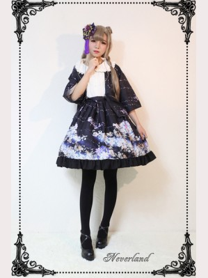 Souffle Song The Sky Of January Lolita Cloak
