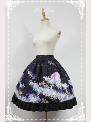 Souffle Song The Sky Of January Lolita Skirt SK