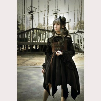 Souffle Song Pirate Ship Steampunk Lolita Dress JSK