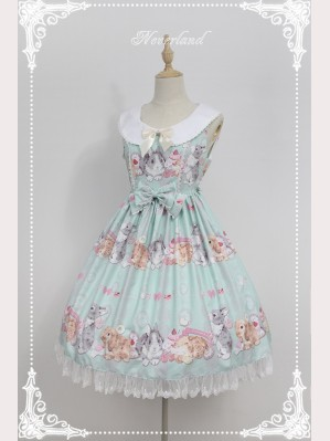 "Souffle Song ""Don't Eat Rabbit"" Lolita Dress JSK"