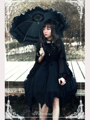 Souffle Song Undead Ballet Lolita Dress JSK ( With Shawl)