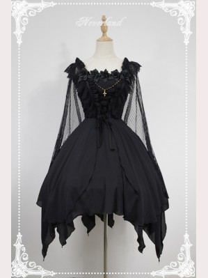 Souffle Song Undead Ballet Lolita Dress JSK (without shawl)