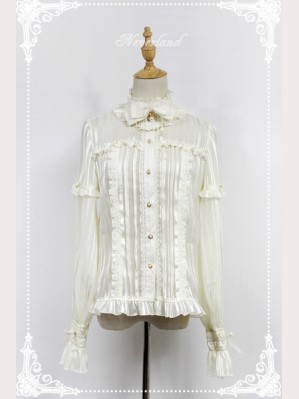 Souffle Song Audrey Horn Sleeve Blouse