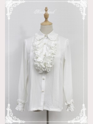Souffle Song Charles Flouncing Long Sleeve Lolita Blouse