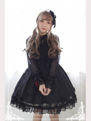 Souffle Song The Secret Of Summer Hight Waist Lolita Dress JSK