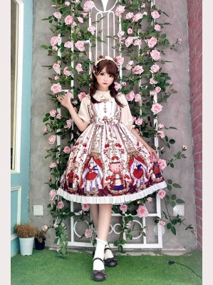 Sugar plum fairy lolita dress JSK (Ivory) (DC01)