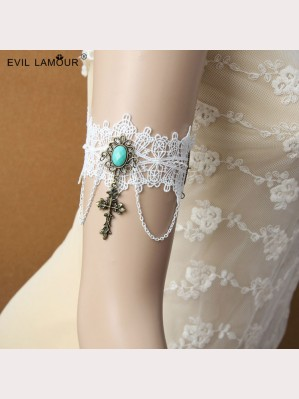 Evil Lamour Europe wide lace armbands ac78