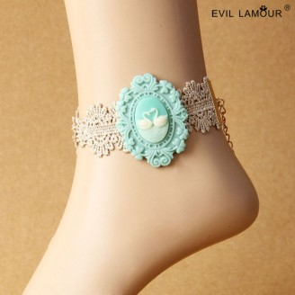 Evil Lamour Swan palace anklets ac85