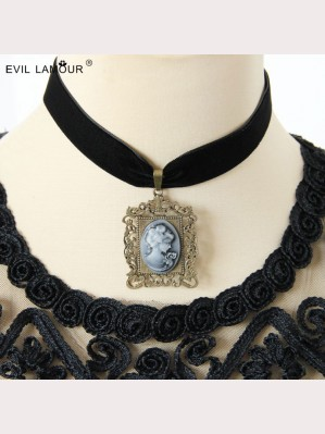 Evil Lamour Baroque beauty necklace ac87