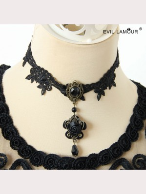 Evil Lamour Korean fashion clavicle  necklace ac103