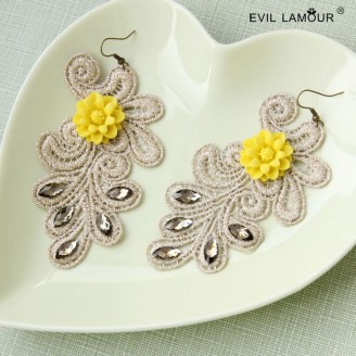 Evil Lamour Europe exaggerated earrings ac147