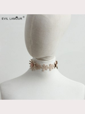 Evil Lamour Europe Flower Necklace ac264