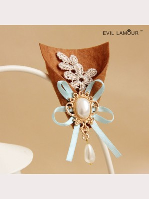 Evil Lamour pearl brooch bouquet ac336