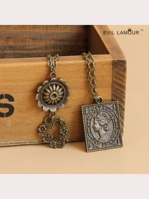 Evil Lamour European wild necklace ac393