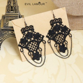 Evil Lamour Korean tassel earrings ac582