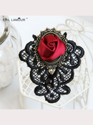Evil Lamour Gothic retro brooch ac628