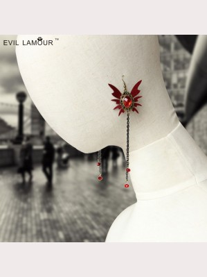 Evil Lamour Gothic vampire earrings ac695