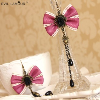 Evil Lamour Europe tassel earrings ac756