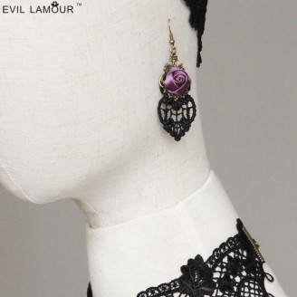 Evil Lamour Europe retro earrings ac873