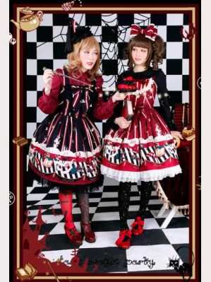 Infanta dark magic party lolita dress JSK