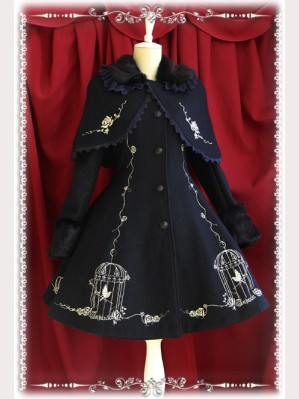 "Infanta ""Emperor and the Nightingale"" Lolita Coat"