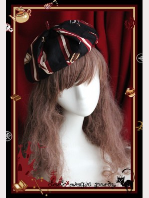 infanta Dark magic party beret