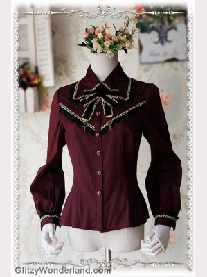 Infanta Striped lolita blouse