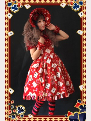 Infanta poker card high-rise JSK
