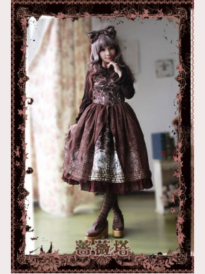 Infanta Sleeping beauty mid-rise JSK