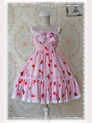 "Q-Candy ""Cherry"" Lolita JSK"