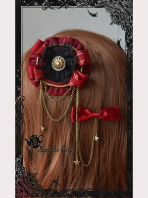 Magic tea party Libra hair clip
