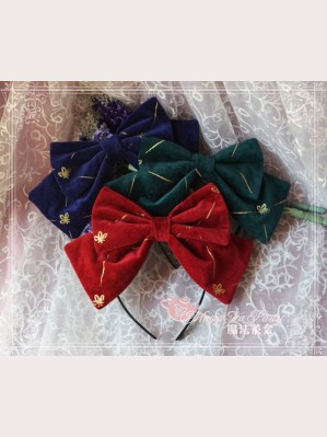 Magic tea party cross love song head bow