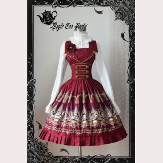 Magic tea party Constellations lolita dress JSK