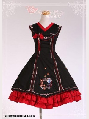 Magic tea party cheongsam qi lolita dress