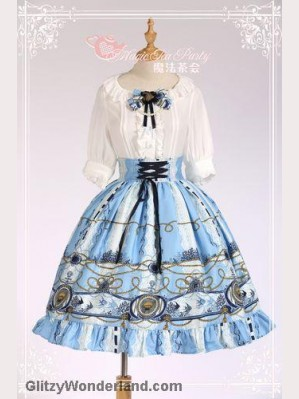 Magic tea party Angel Fish Lolita skirt SK