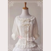 Magic tea party mid-sleeves blouse 2