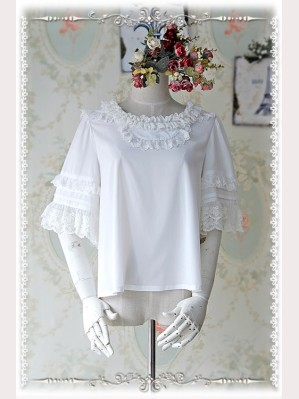 Infanta Chiffon Dolly Lolita Blouse