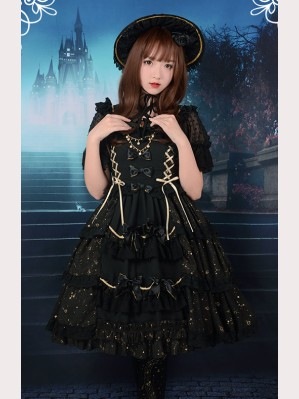 Souffle Song The flowers Vientiane Lolita Dress JSK