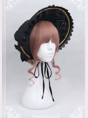 Souffle Song Wishing Stars Lolita Bonnet