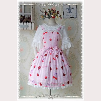 Infanta  Cherry Lolita Dress JSK