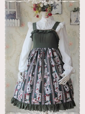 Infanta Rabbit & Poker daily lolita dress JSK