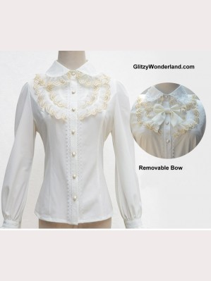 Lolita White Lace Blouse (BS 13)