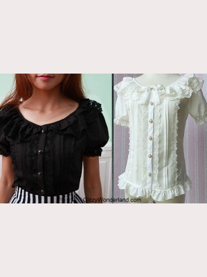 Lolita Short sleeve blouse (BS 10)