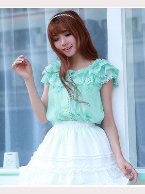 Lolita Lace Dolly Blouse (BS 14)