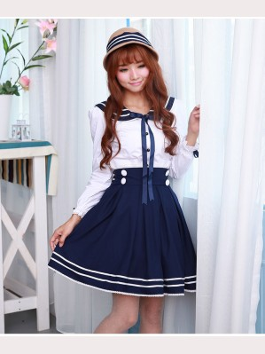 Lolita Sailor Blouse (BS 15)